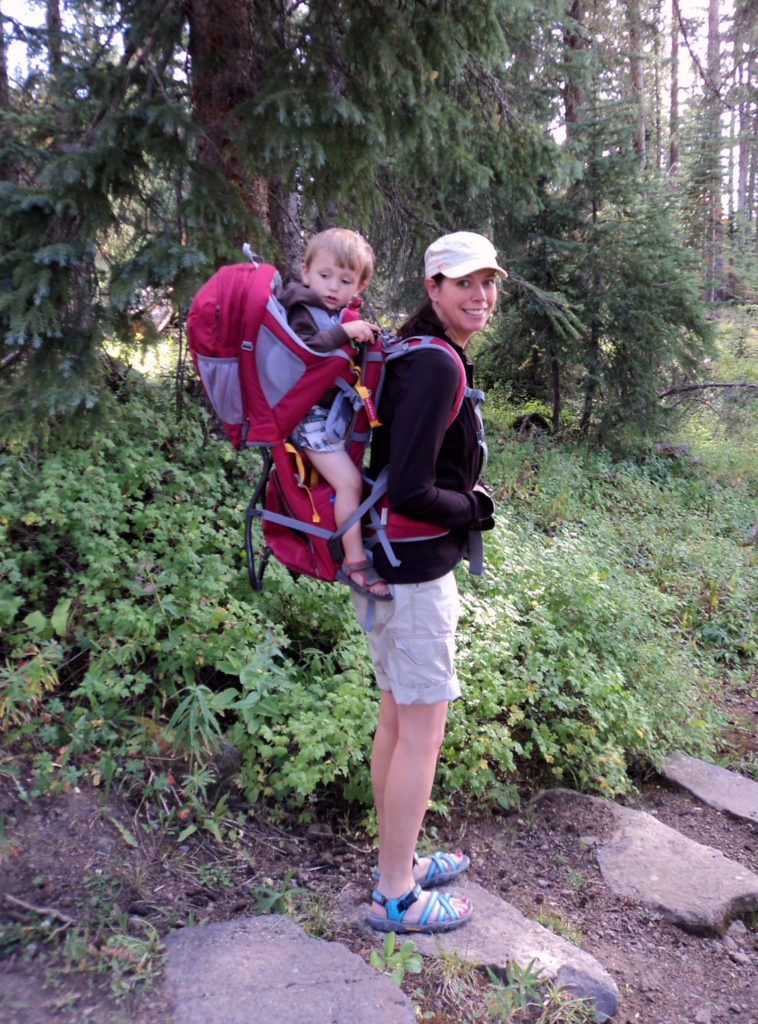 Hiking With Baby Carrier Tips || Best Colorado Mom Guide
