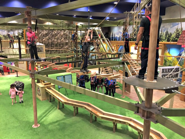 Great Wolf Lodge Colorado Springs Howlers Peak Ropes
